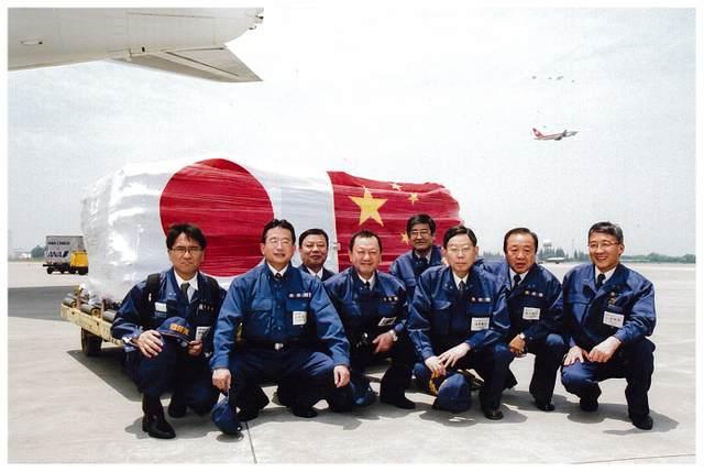「中国・四川大地震」救援物資支給のため緊急訪中
