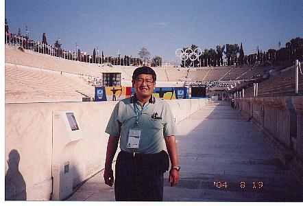 アテネオリンピックへ
