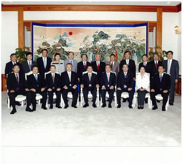 日韓議員連盟・韓国訪問